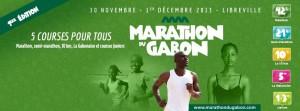 Gabon marathon, Libreville 1/12/2013