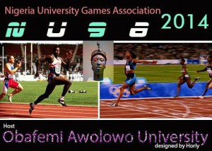 24th Nigeria University Games Association (NUGA) Games, Ile-Ife 18-21/02/2014