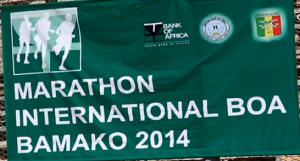 6th international Bamako marathon (Mali) 2/02/2014