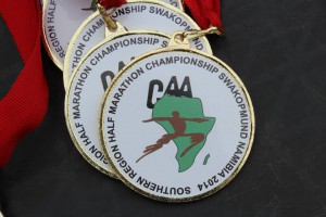 Southern Africa half-marathon championships and Lucky Star marathon, Namibia 4/10/2014