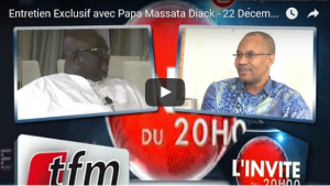 Crise à l'IAAF: entretien de Papa Massata Diack avec TFM, 22/12/2015