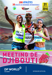Djibouti international meet 31/03/2016