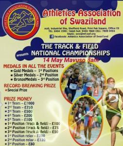 Swaziland Championships, Manzini 14/05/2016