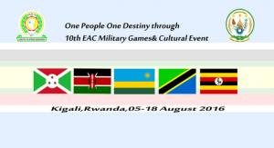 East African Military Games, Kigali (Rwanda) 9/08/2016