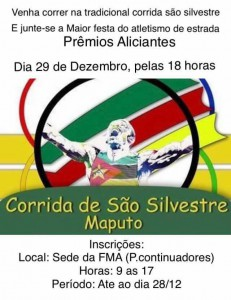 Corrida de Sao Silvestre, Maputo (Mozambique) 29/12/2016