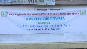 10km d'Arta (Djibouti) 20/01/2017
