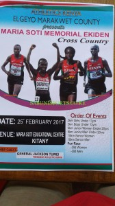 1st Maria Soti memorial cross-country, Keiyo South, Elgeyo Marakwet (Kenya) 25/02/2017