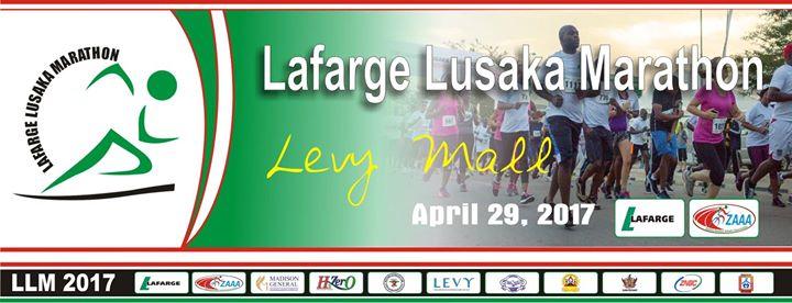 Lusaka marathon (Zambia) 29/04/2017