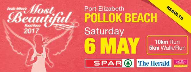 Spar Women's Challenge 10km road, Port Elizabeth (South Africa) 6/05/2017