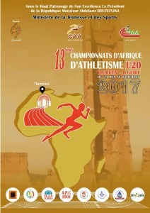 African u20 championships (junior), Tlemcen (Algeria) 29/06 – 02/07/2017