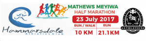 Mathews Meyiwa half-marathon, Durban (South Africa) 23/07/2017
