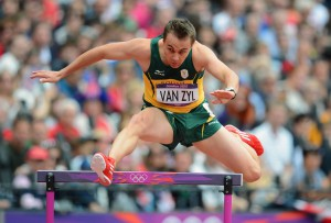 South Africa's LJ van Zyl hangs up his spikes