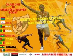 Gabriel Tiacoh meet, Abidjan (Ivory Coast) 20/06/2018