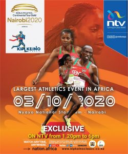 Kip Keino Classic Tour, Nairobi (Kenya) 3/10/2020